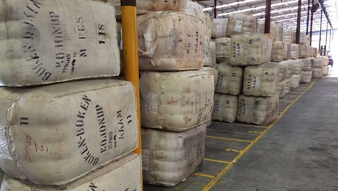 Queensland Cotton have ceased trading of their wool export division due to low margins